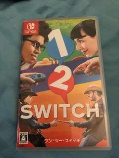 1 2 Switch 有盒