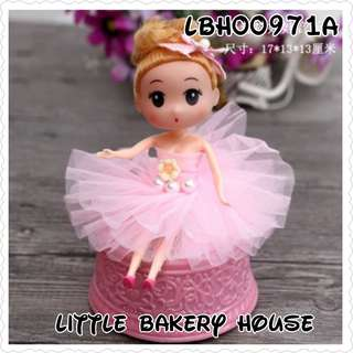 Bakery LBH00971A cake deco music box pink