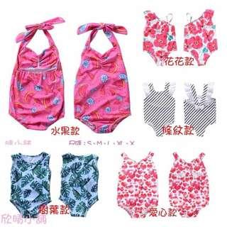 🚚 ❤️女童多款造型泳衣