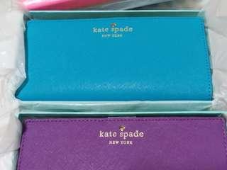 Kate Spade Wallet Colour  Egyptnturq / KateSpade 長銀包 藍綠色