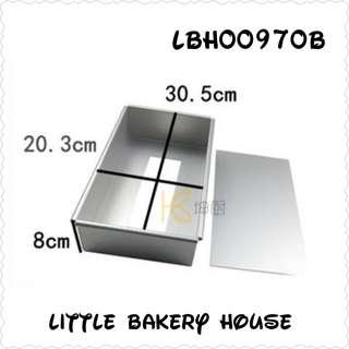Bakery LBH00970B mold 12 x 8 inch
