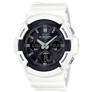 CASIO G-SHOCK GAS-100 series GAS-100B-7A 白色 GSHOCK GAS100B