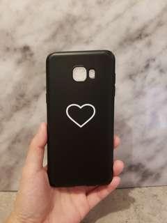 (包郵)C5 Pro 簡約黑底♥ 手機殼