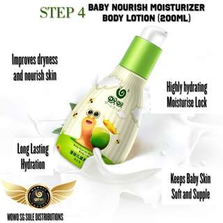 Wowo Baby Nourish Moisturizer Body Lotion (200g)