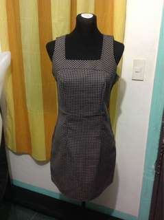 Checkered Dress (Small-semiMedium frame