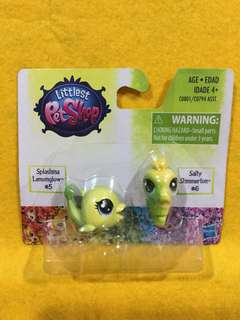 Littlest Pet Shop Splashina Lemonglow & Salty Shimmerton