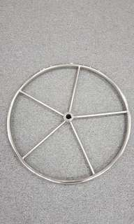 Stainless Steel Boat Steering Wheel