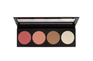 [PO] LA GIRL GBL571 Glow beauty brick blush palette PO