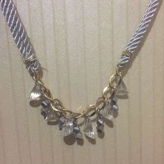 [SALE] Grey diamond necklace
