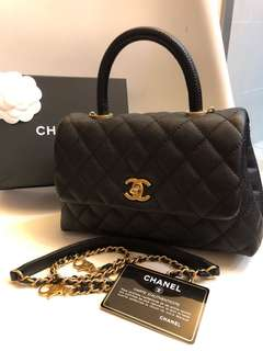 Chanel small flap bag CoCo HandBag 👜👍