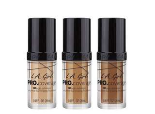 [PO] L.A GIRL PRO Coverage HD long wear illuminating liquid foundation PO