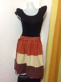 Black&Orange Dress (XSmall-Small frame)
