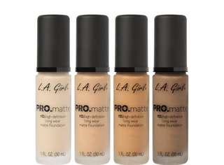 [PO] L.A GIRL Pro Matte HD long wear matte foundation PO
