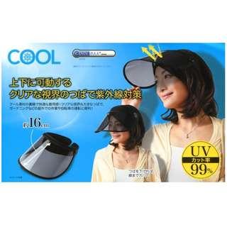 【現貨】Cool Max 日本 防UV 紫外線 可調教式 太陽帽 日本直送 原裝正品