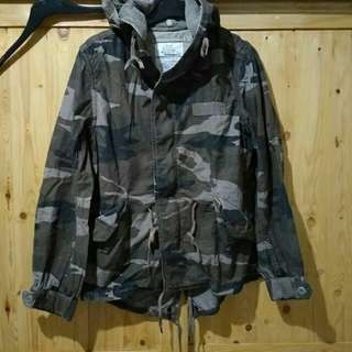 Parka cold weather female field