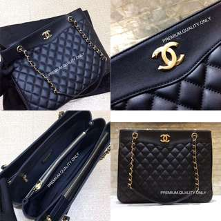 Chanel Large Coco Vintage Timeless Tote Bag