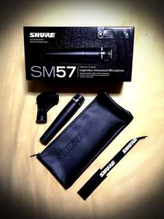 Selling NEW Shure Sm 57