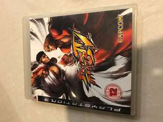 PS3 Game street fighter 4