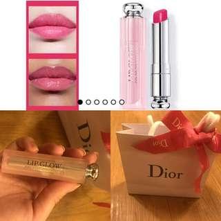 全新Dior靚色唇膏連紙袋