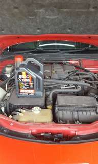 motul8100更換機油 1200 (包5升)代安裝剎車皮300蚊 2對