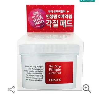 Cosrx One Step Original Pimple Clear Pad