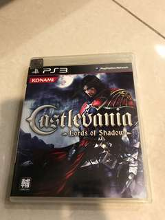 PS3 Game castlevania