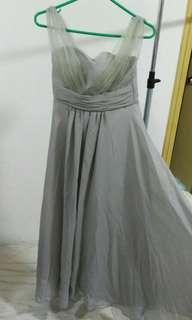 WeddingDress 姊妹裙 結婚紗裙 雪紡洋裝