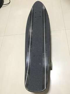 Santa Cruz Barbed Wire Jammer Cruzer Black - 29.1""