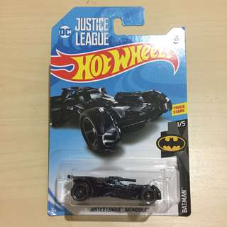 Hot Wheels 211/365 Batman 1/5 Justice League Batmobile