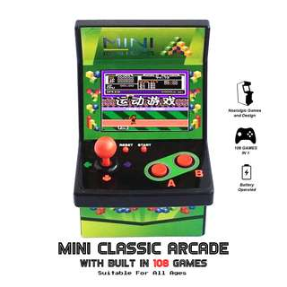 Mini Classic Arcade