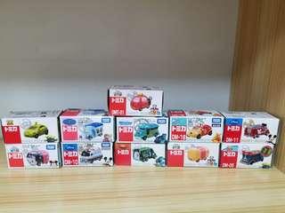 日本迪士尼車仔一套11盒(全部全新)