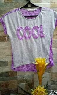 Purple Croptop
