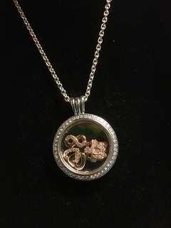 Pandora Necklace 頸鏈 聖誕禮物 心形 無限 (原價$2150)