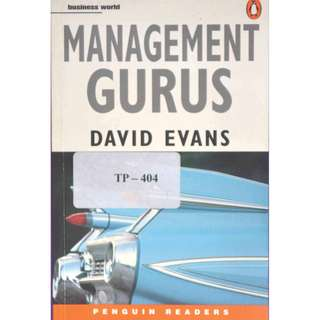 MANAGEMENT GURUS BY DAVID EVANS