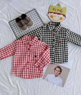 #Ramadan50 Boy Korean Style Shirt