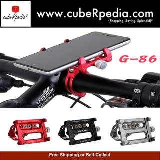 GUB phone holder G-86 for Bicycle / E scooter