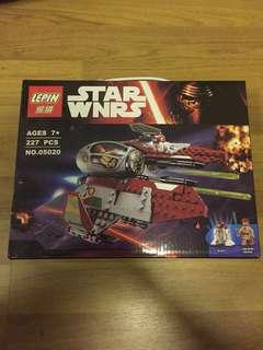 Star Wars Lepin 05020 Obi Wan Jedi Interceptor #ramadan50