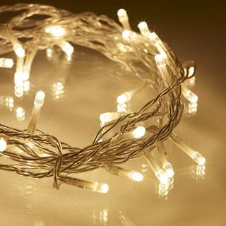 Warm Fairy Lights 4m (for rent)
