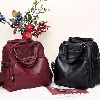 Tas Ransel Gendong Backpack Tas Fashion Wanita Cewek Impor Code 3138