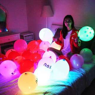 🚚 LED Balloon For Special Event/Valentine's Day/Anniversary