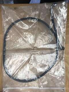 Steel braided brakes hose line