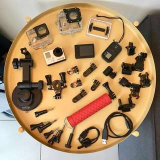 GoPro HERO 3+ (BE) with accessories
