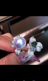 客訂澳白戒指.有喜歡的可以找我訂做哦!