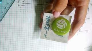 🚚 馬該Magai 排球小徽章