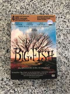 BigFish DVD in box