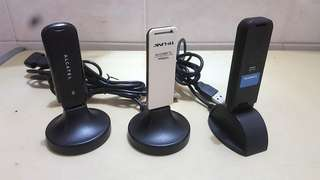 3 Unit: Wi-Fi 5G Dual Band, 3G Data SIM Card and Wireless-N Adapter USB, SELL ONE PACKAGE !!