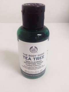 THE BODY SHOP TONER TEA TREE SKIN CLEARING MATTIFYING TONER