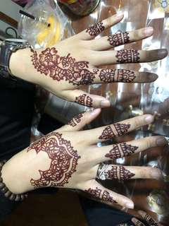 Eid Henna 2018 ✨