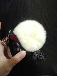 Mirror feather Keychain