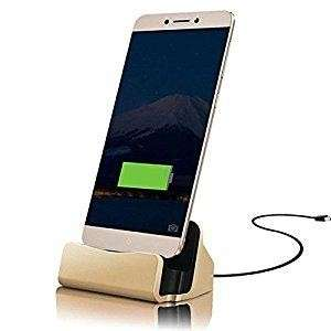 USB Charger Stand Dock For Smartphone Android Micro USB